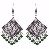 Buy Green pearl earrings Online