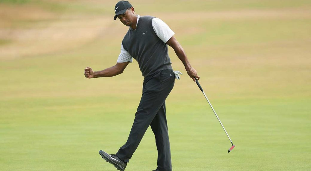 tiger woods british open 2018 leaderboard