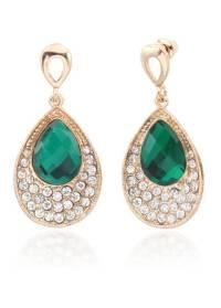 Buy Green Flashy earring for women. Online