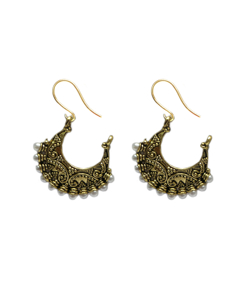 Africa shaped earrings