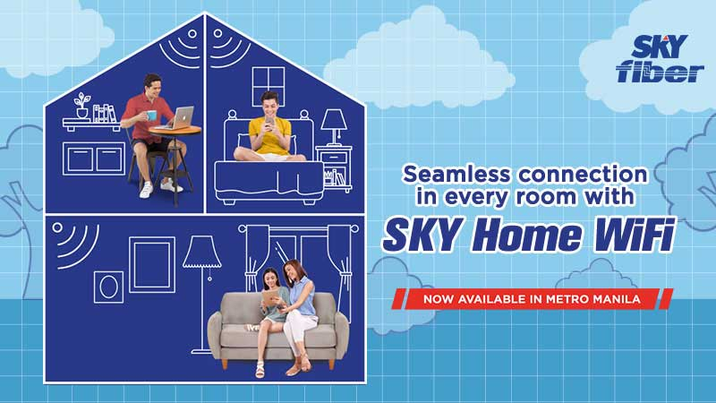 SKY Home WiFi Booster Mesh