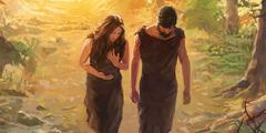 Adan Y Eva Desobedecen A Dios Lecciones De La Biblia