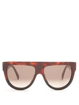 Shadow D-frame acetate sunglasses Céline Eyewear MATCHESFASHION