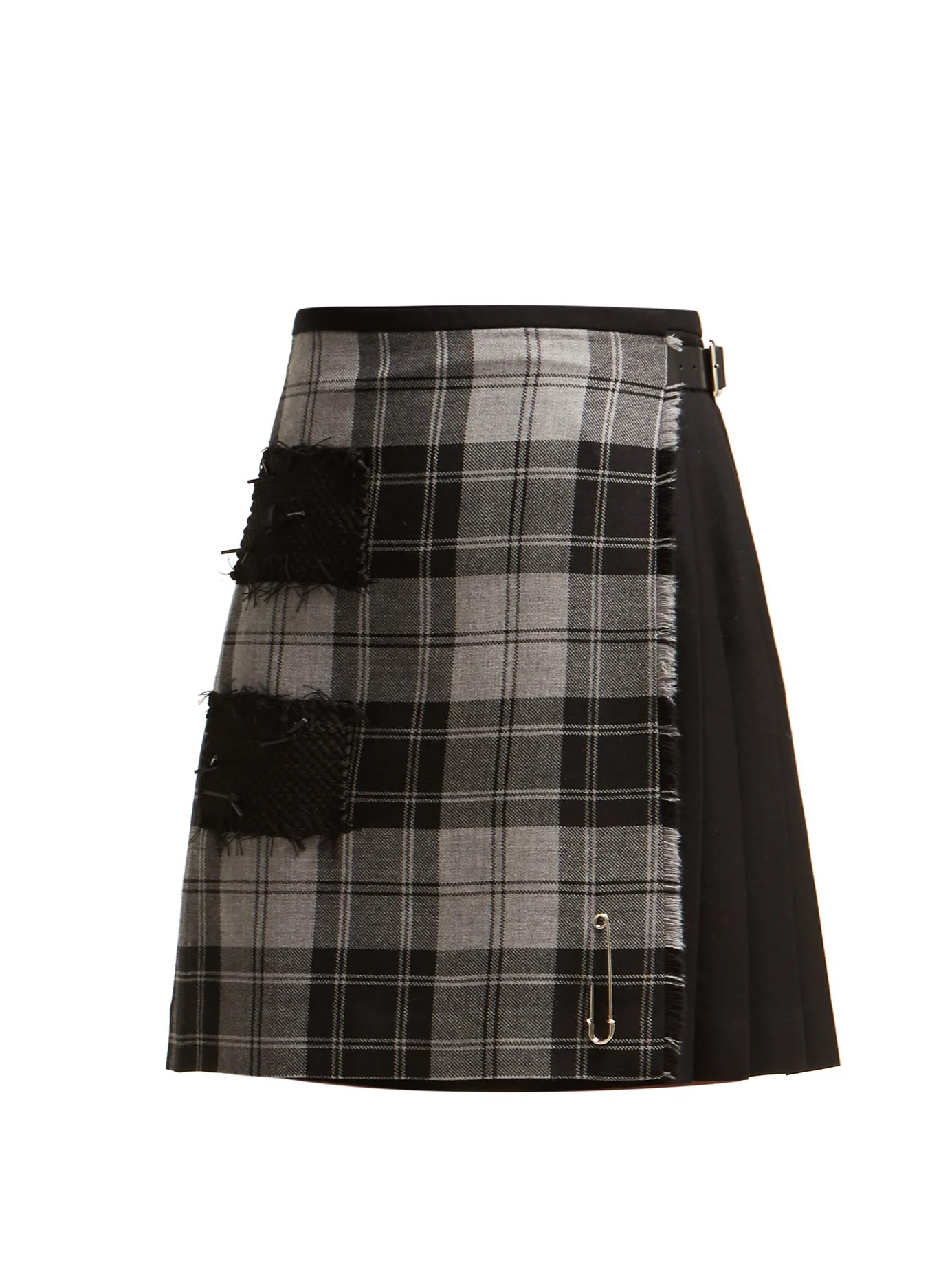 Douglas Serre Douglas 47cm Checked Wool Kilt Le Kilt Matchesfashion Com