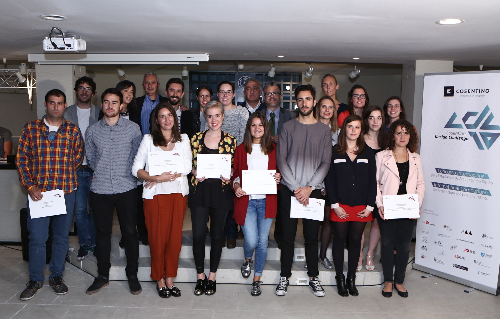 Colegio Decoradores Madrid Cosentino Design Challenge Internationaler Studenten
