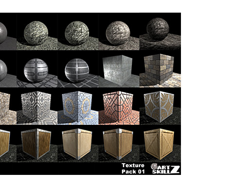 Free ArtskillZ Texture Pack 01 - Asset Store
