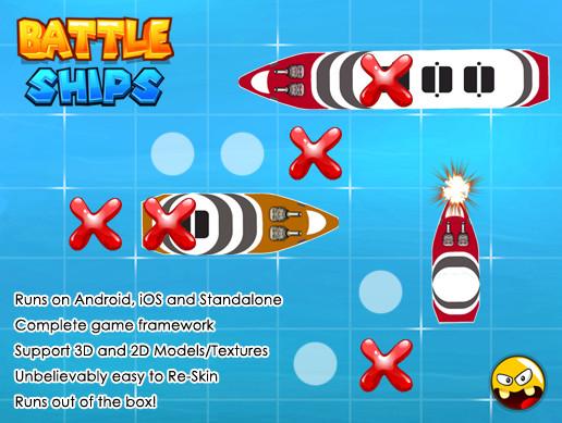 Battleship Game Framework - Asset Store