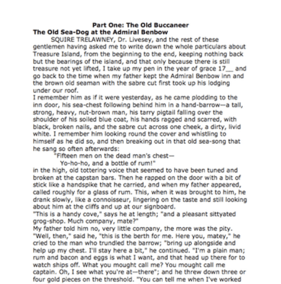 an example of an essay