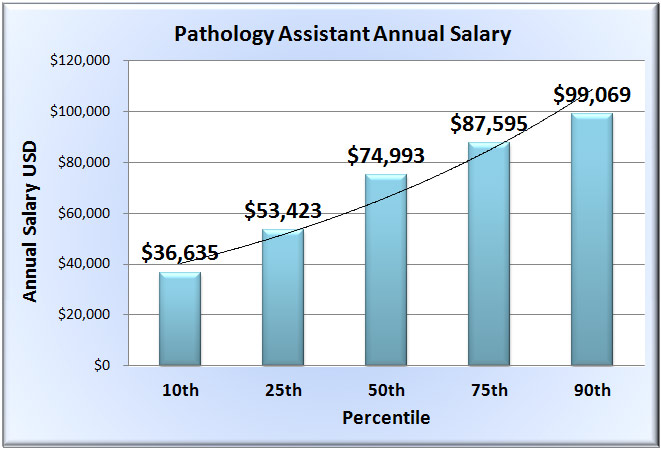 Pathologist Assistant Salary - salary range template