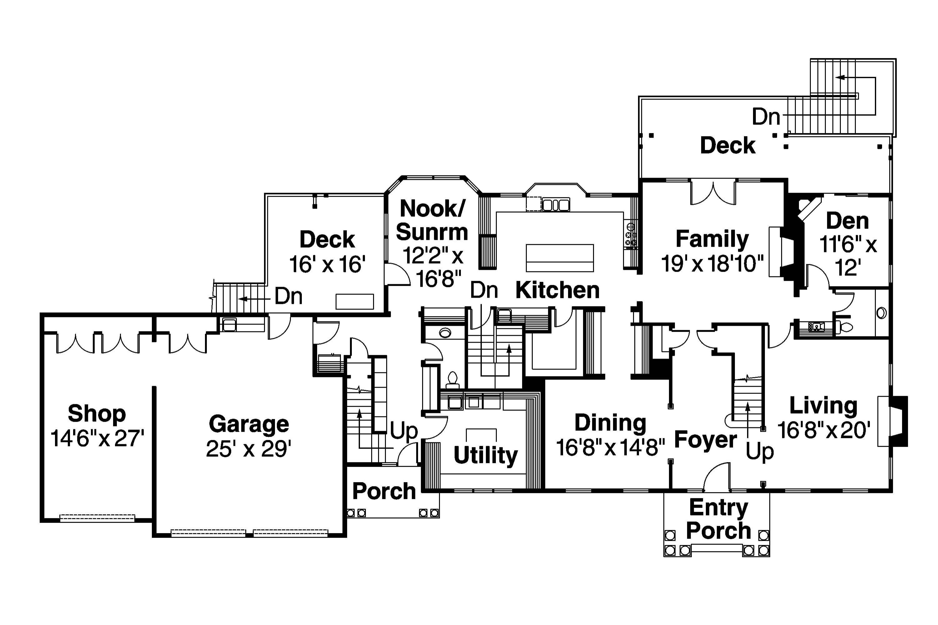 Fullsize Of Colonial House Plans