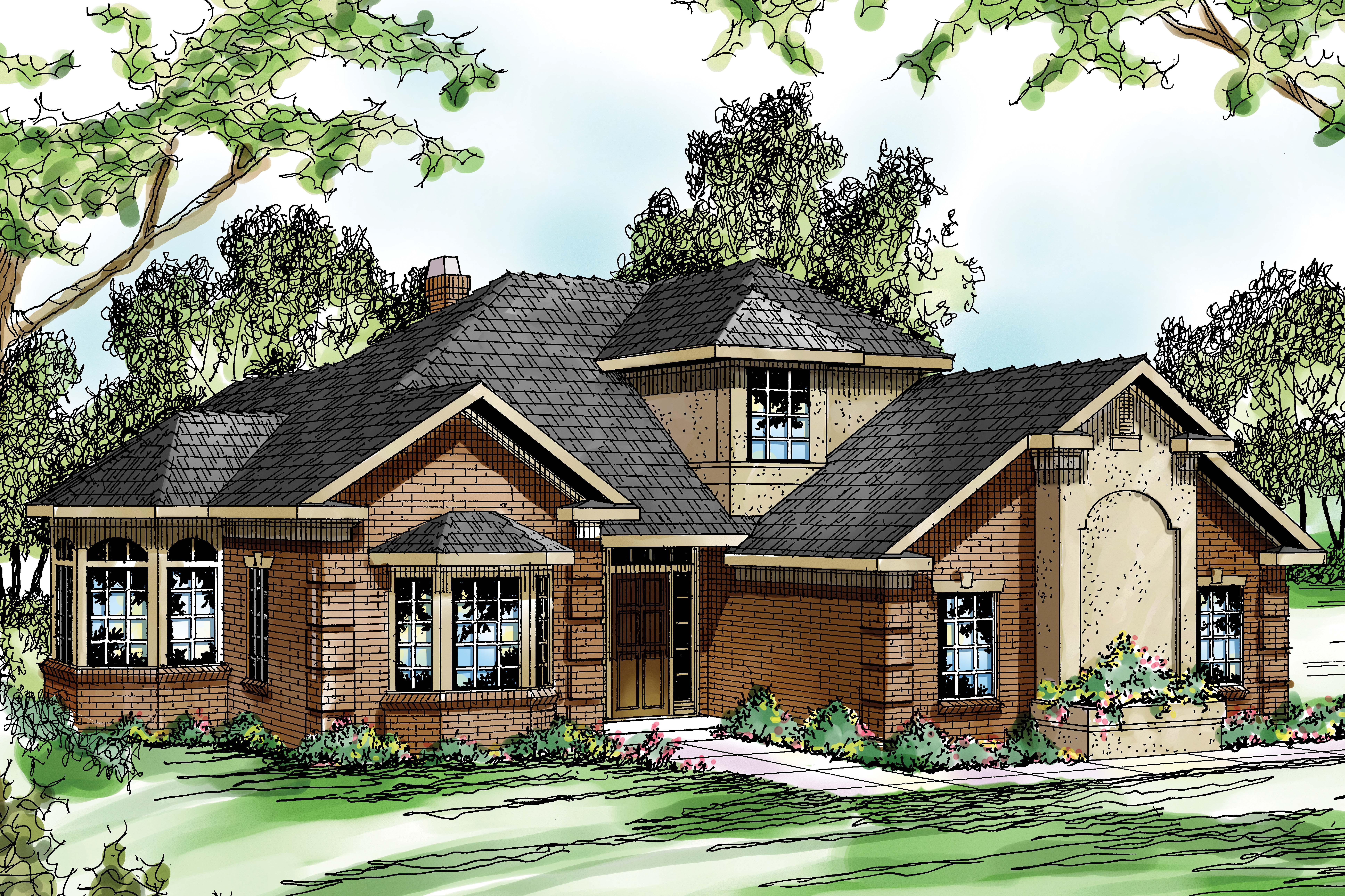 Traditional Home Designs Traditional House Plans Wichita 10 254 Associated Designs