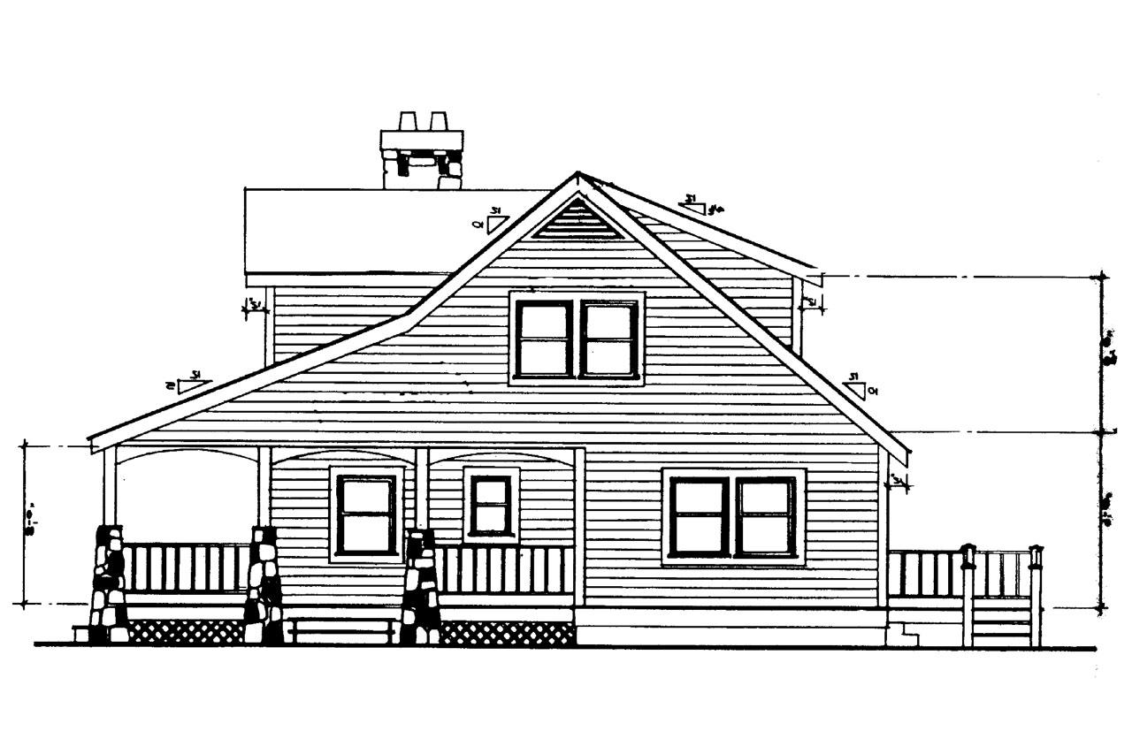 Height Of A House Craftsman House Plans Altadena 41 006 Associated Designs