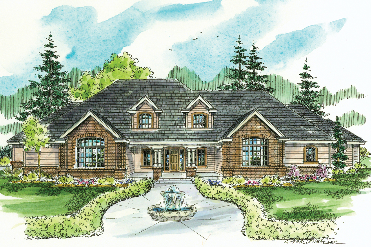 Classic Home Design Classic House Plans Laurelwood 30 722 Associated Designs