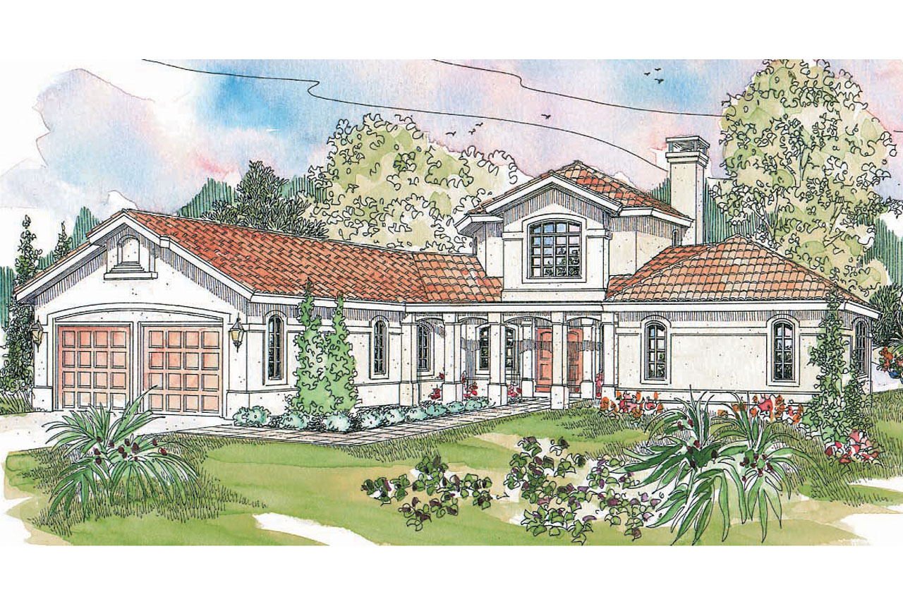 Spanish House Style Spanish Style House Plans Grandeza 10 136 Associated
