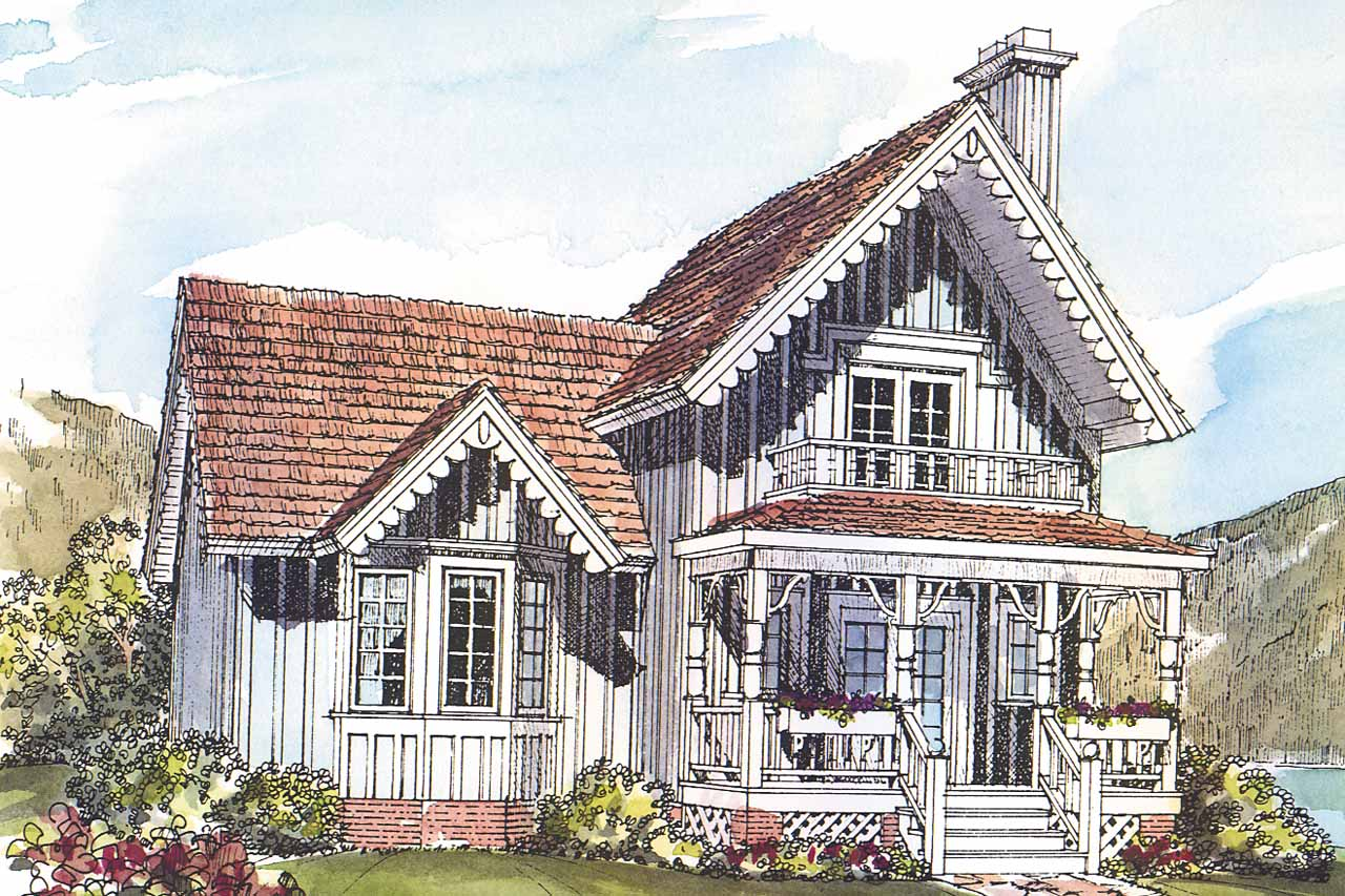 Lovable Victorian House Plan Pearson Front Elevation Victorian House Plans Pearson Associated Designs Small Victorian House Sale Small Victorian Cottage House Plans houzz-02 Small Victorian House