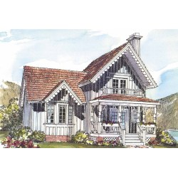 Small Crop Of Small Victorian House
