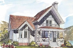 Small Of Small Victorian House
