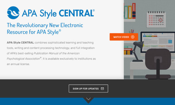 Psychological Association Portal Offers APA Style Guidance