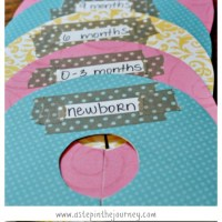 How to Make Baby Closet Dividers