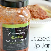 Jazzed Up Jarred Spaghetti Sauce