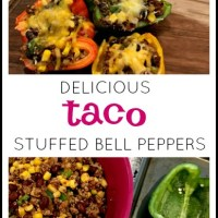 Stuffed Taco Bell Peppers