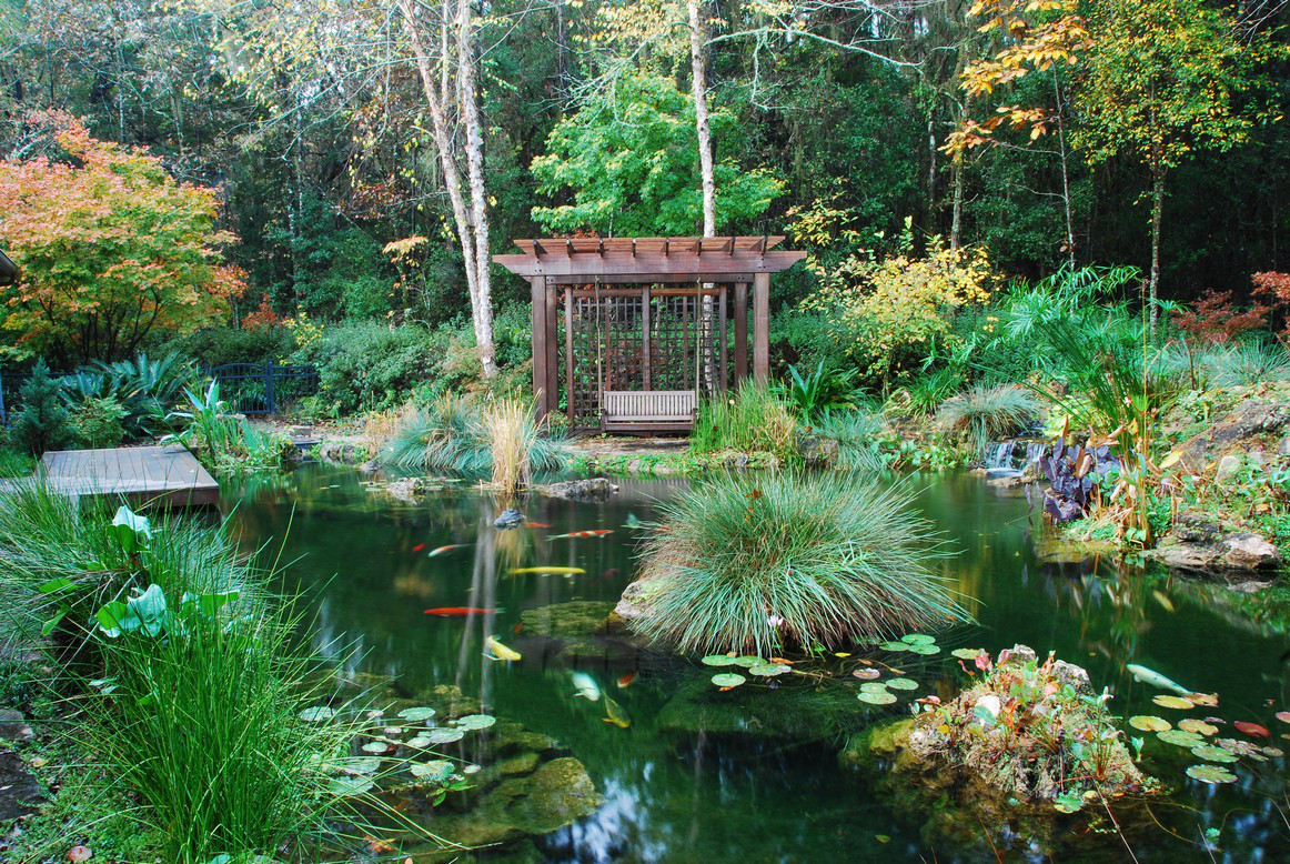 Piscinas Naturalizadas Koi Filters And Koi Pond Systems With Self Cleaning Filters