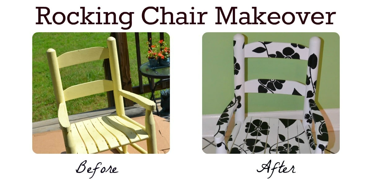 Tutorial Hand Painted Rocking Chair As The Bunny Hopsr