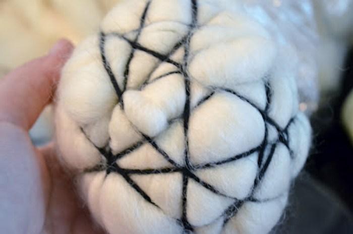 Dryer Ball, Wool Yarn, Wrap