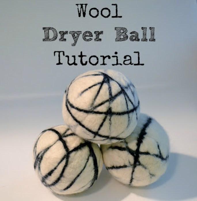 DIY Wool Dryer Ball Tutorial
