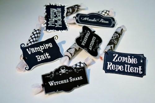 Halloween, Cures, Smarties, Printable