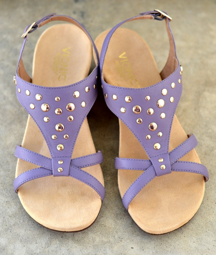 Catarina T-Strap Wedge Rivets