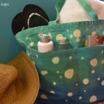 {Tutorial} Bubble Tie Dye Tote Bag