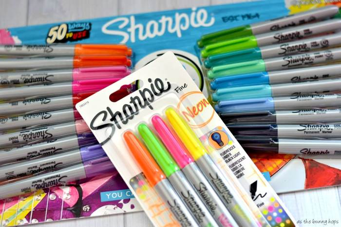 Sharpie markers are great for crafting! #SavingsCatcher