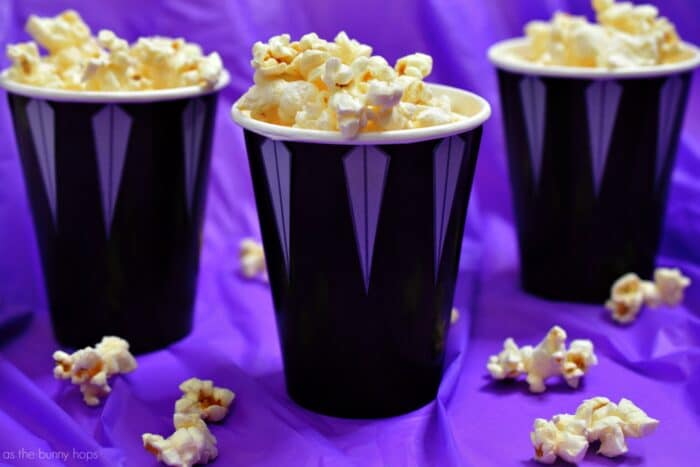 Marvel\u0027s Black Panther Snack Cups and Party Ideas - As The Bunny Hops®