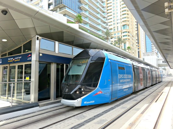 Dubai Tram - Things to do in UAE on a Budget