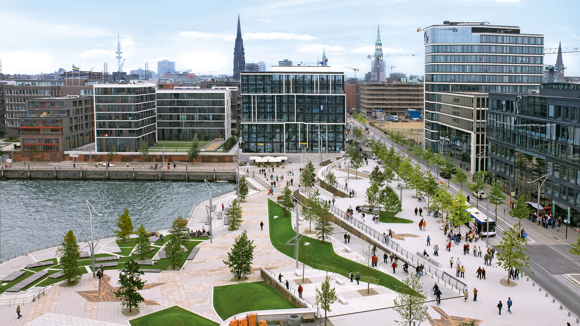Teppiche Hafencity Hamburg Masterplan Hafencity Hamburg Astoc Architects And