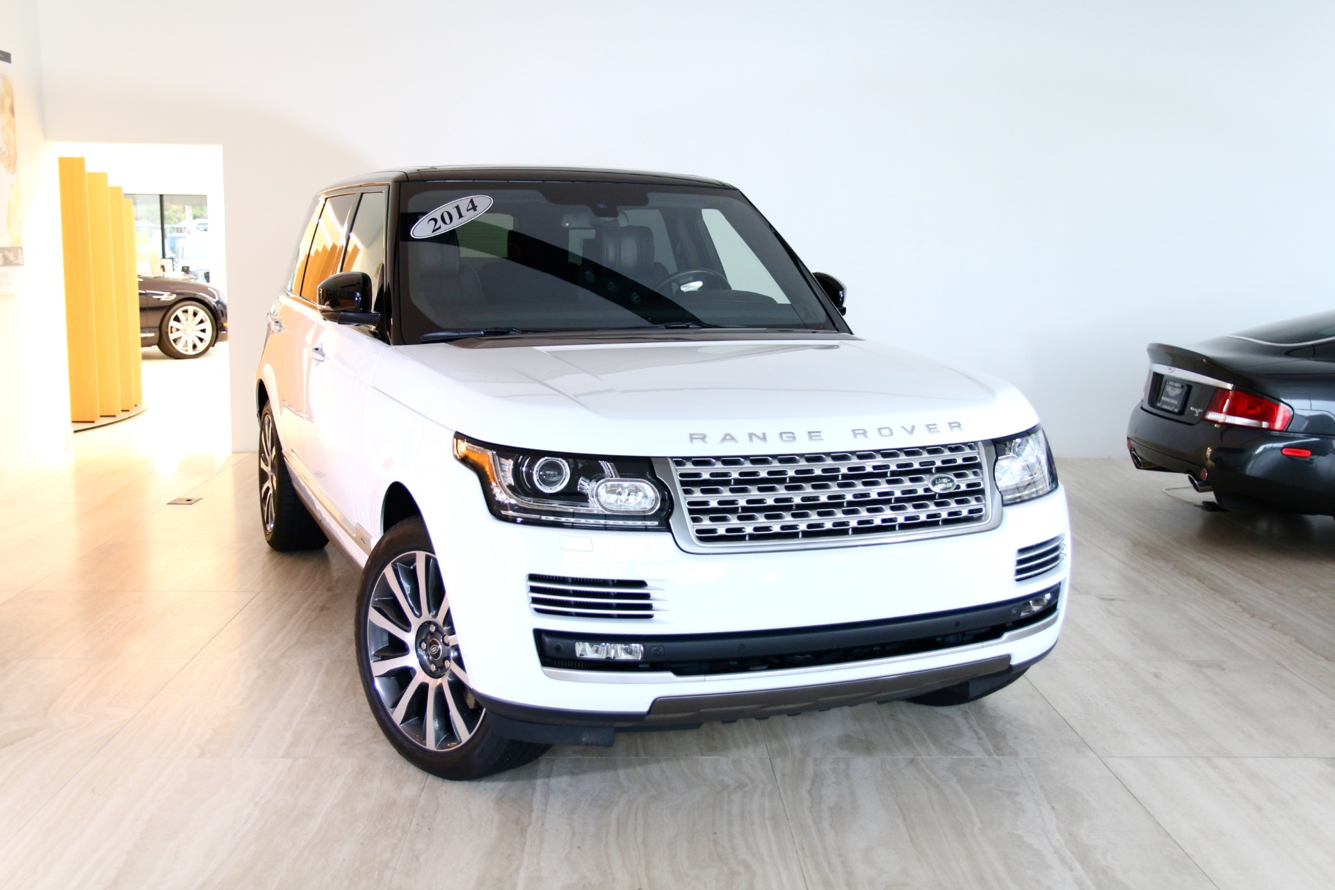 Garage Sale Rover 2014 Land Rover Range Rover Autobiography Lwb Stock 8n017975a