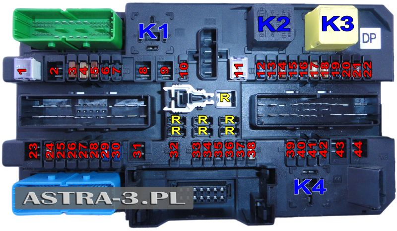 Astra H Fuse Box - Wiring Diagram General