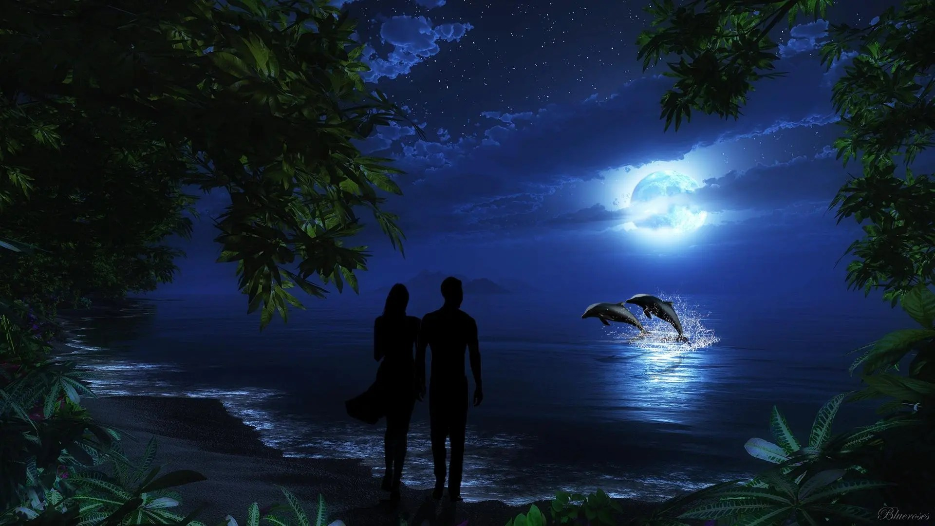 3d Wallpaper Under The Sea Full Moon October 2015 Dreams Come True Astrology King