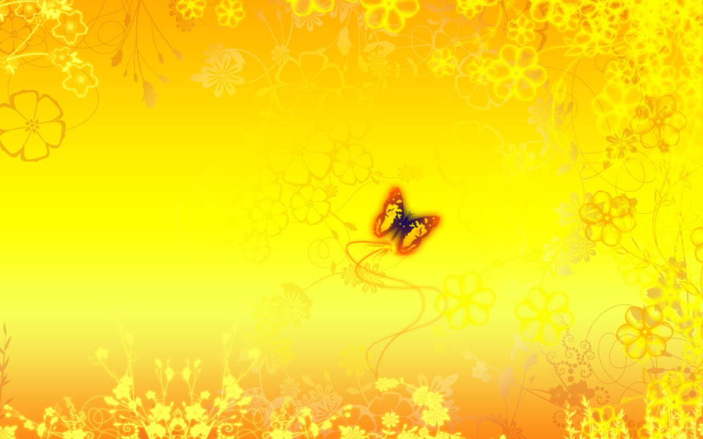 yellow-wallpaperjpg (1024×640) butterfly Pinterest Butterfly - abstract powerpoint template