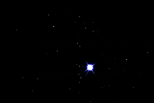 Sirius-two of the five brightest stars