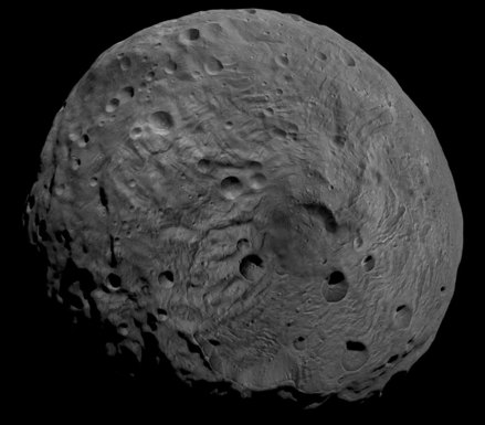South Pole of Vesta