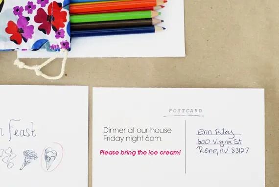 Printable Dinner Feast Invitations \u2022 A Subtle Revelry