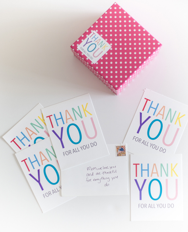 printable thank you note stickers \u2022 A Subtle Revelry - printable thank you note