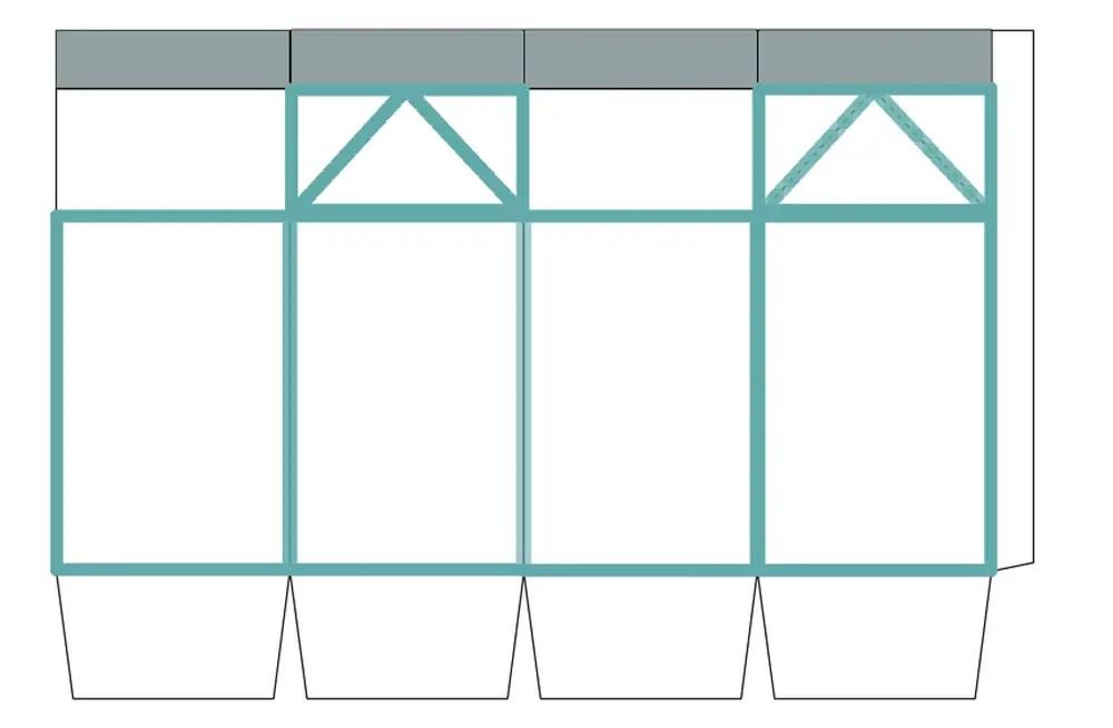 milk carton lanterns \u2022 A Subtle Revelry - Milk Carton Template
