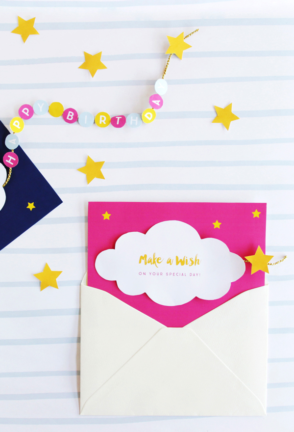 Make a Wish Birthday Cards \u2022 A Subtle Revelry