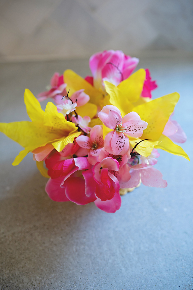 how to make artificial flower with paper
