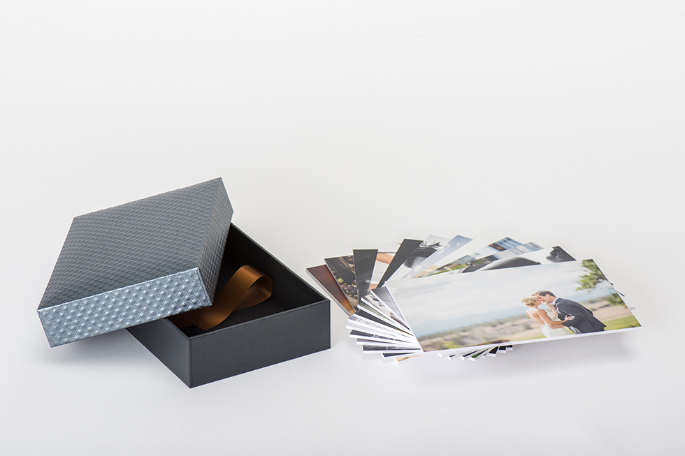 Professional Photography Gallery Boxes, Photo Prints, and Stands - box prints