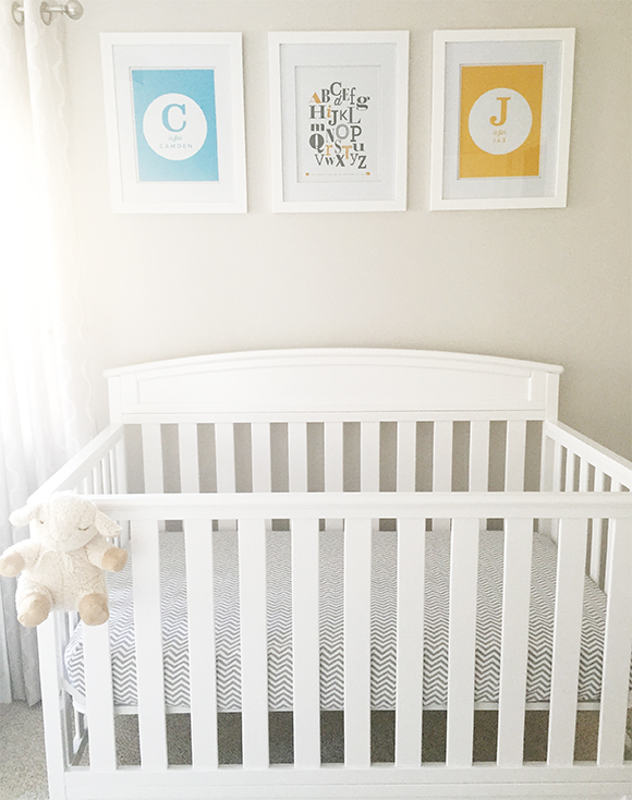 Framed Nursery Wall Art
