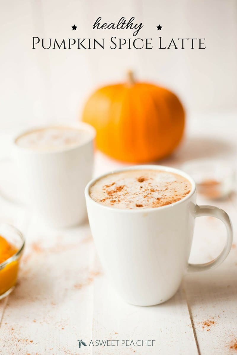 Coffee Latte Healthy Pumpkin Spice Latte